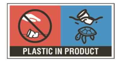 plastic in product
